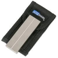 AccuSharp 3 Inch Diamond Pocket Stone with Pouch