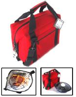 Polar Bear Red 12 Pack Soft Sided Cooler