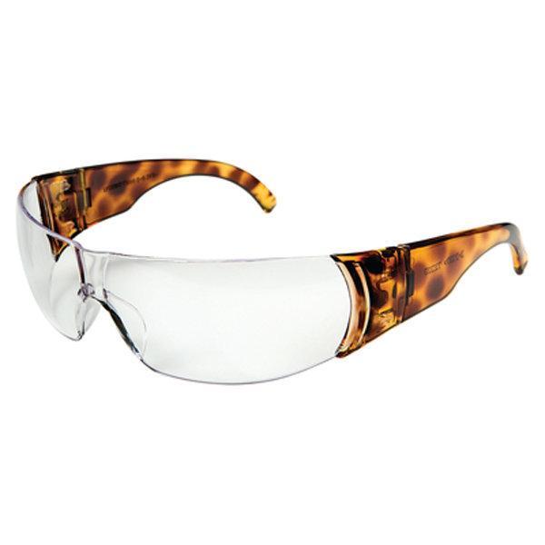 Howard Leight W300 Series Women's Tortoise Shell Eyewear, Clear Lens