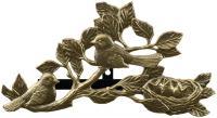 Chickadee Hose Holder - French Bronze