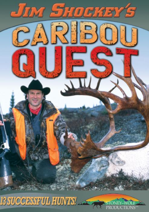 Stoney-Wolf Jim Shockey's Caribou Quest DVD