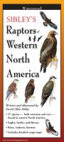 Steven M. Lewers & Associates Sibley's Raptors of Western N. America