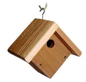 Wren / Chickadee Bird Houses by Songbird Cedar