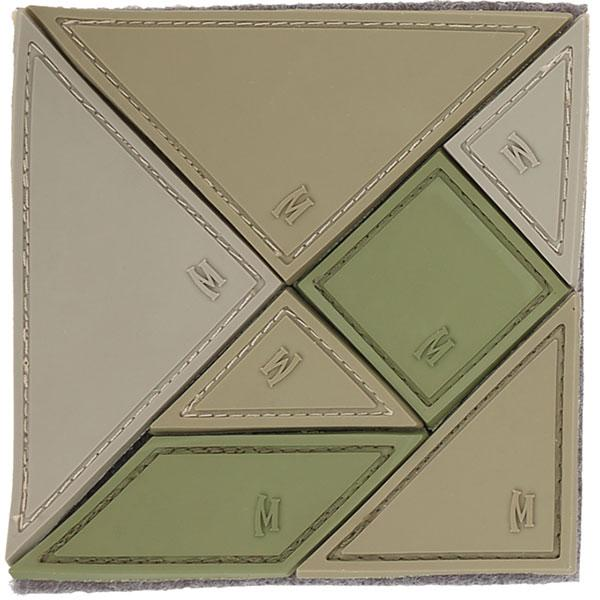 Maxpedition Tangram 7-Piece Patch Arid