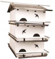 Birds Choice Add-A-Floor for Waters Edge Suites Purple Martin Houses