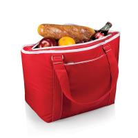 Picnic Time Topanga Cooler Tote, Red