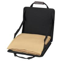 Picnic at Ascot  Portable Adjustable Reclining Seat with Fleece Blanket
