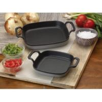 "Bayou Classic Weathered Grey 6"" Baking Dish Baking Dish,7770S"