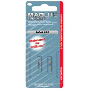 MagLite Solitaire Bulb, 2 Pack