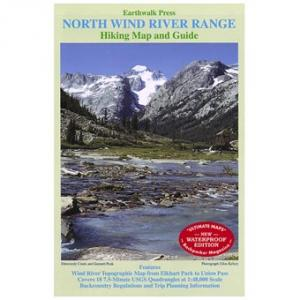 Earthwalk Press North Wind River Range Map Guide
