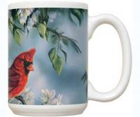 Fiddler's Elbow Springtime Jewel Cardinal 15 oz Mug