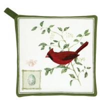 Alice's Cottage Cardinal Potholder