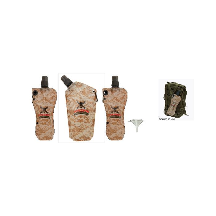 United Cutlery M48 Kommando Disposable Flask Set 3-Pack With Funn