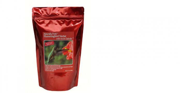 Sapphire Labs Naturally Fresh Hummingbird Nectar with Feeder Fresh Nectar Defender Powder Nectar