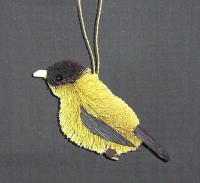 Brushart Finch Ornament