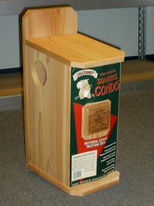 Squirrel Houses & Feeders by Chuck-A-Nut Products