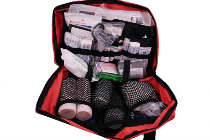 Master Camping First Aid Kit