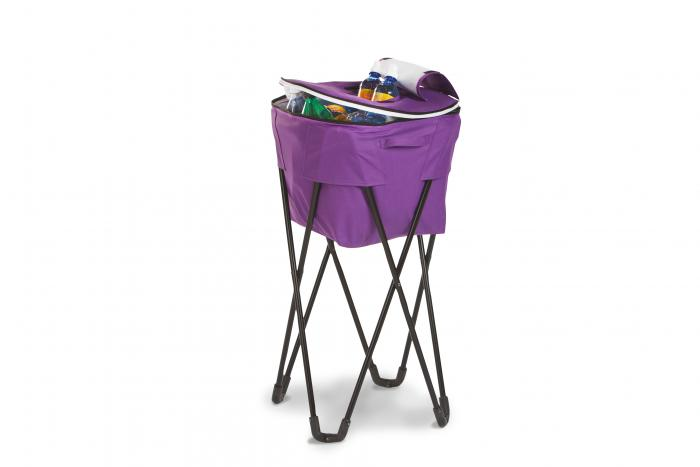 Picnic Plus Insulated Tub Cooler with Stand - Purple