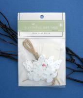 Cast Paper Art Gift Tags- Set of 5 Butterflies (1 pk - 5 butterflies)