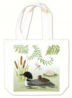Alice's Cottage Loon Gift Tote