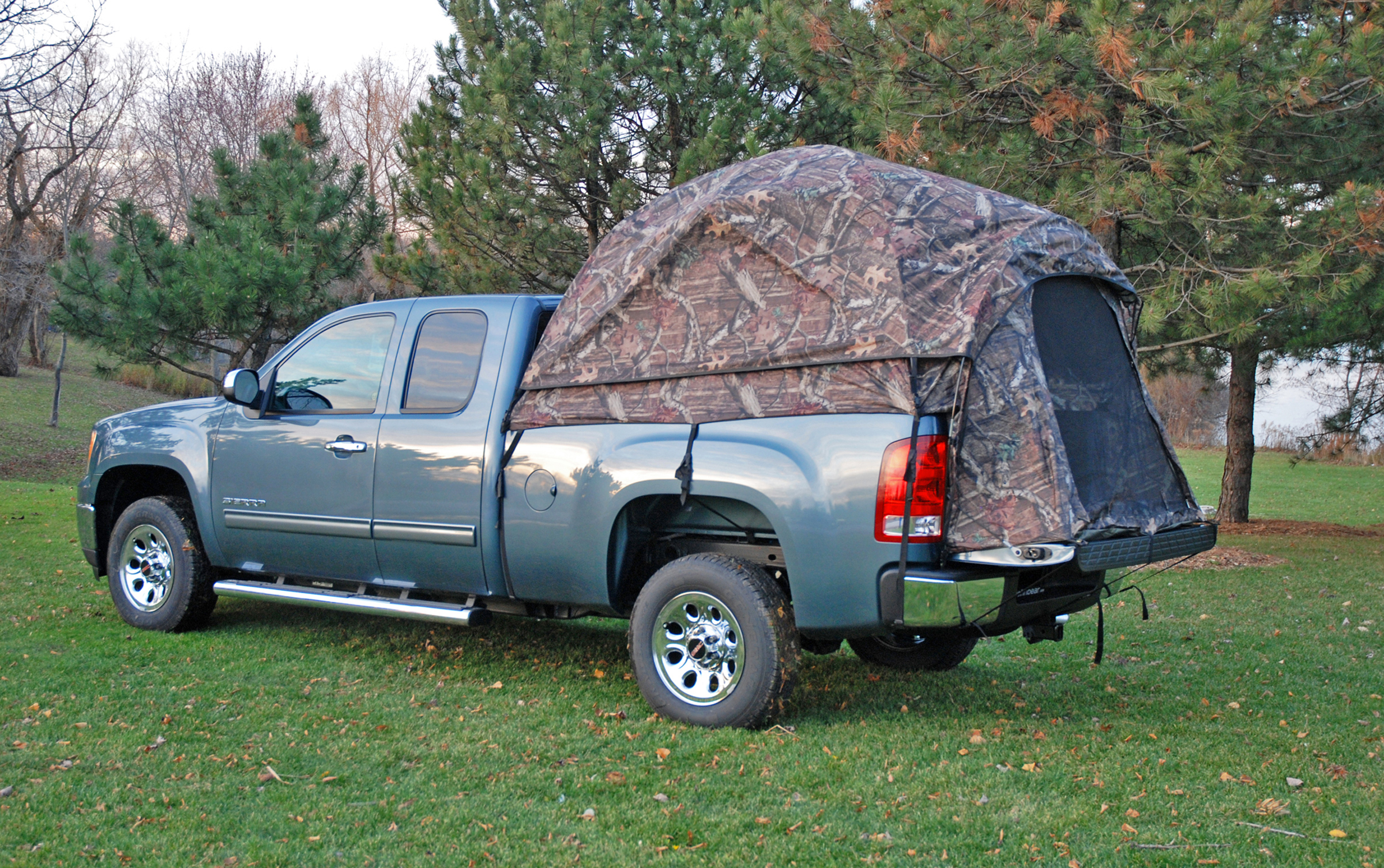 napier outdoors camp truck tent full size short box 6 5 ft. Black Bedroom Furniture Sets. Home Design Ideas