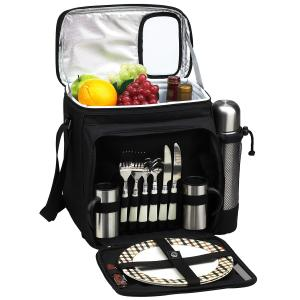 Coffee & Tea Baskets/Backpacks by Picnic at Ascot