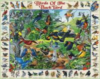 White Mountain Birds of Backyard Puzzle