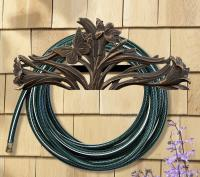 Butterfly Hose Holder - Oil Rub Bronze
