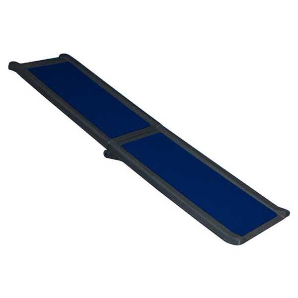 "Pet Gear Full Length Bi-Fold Pet Ramp Black / Blue 66"" x 16"" x 4"""