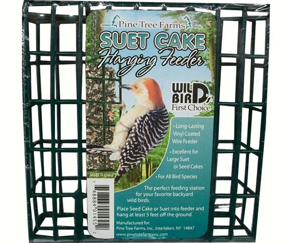 Pine Tree Farms Small Wire Bird Feeder with Handle