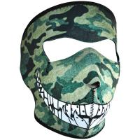Zan Headgear Neo Face Mask - Camo with Teeth