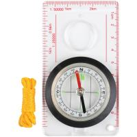 Stansport 557-P Deluxe Liquid-Filled Map Compass