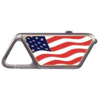 ASP Sapphire USB American Flag LED Flashlight