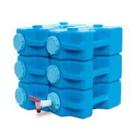 Sagan AquaBrick Emergency Water/Food Storage Container - 6pack
