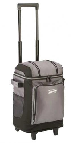 Coleman 42 Can Wheeled Cooler, Gray
