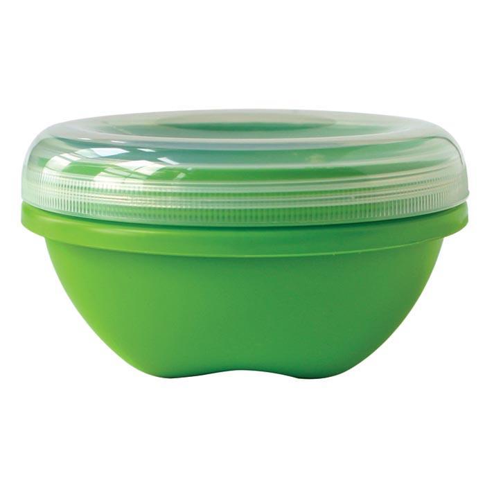 Preserve Mini Round Green 4 Pk