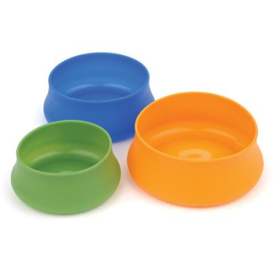 Guyot Designs Squishy Dog Bowl, Large 48oz, Blue