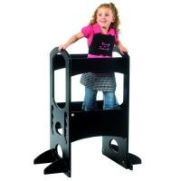 Little Partners Ebony Color Learning Tower, Children's Step Stool