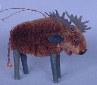 Brushart Moose Ornament