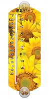 Headwind Sunflower Window Thermometer