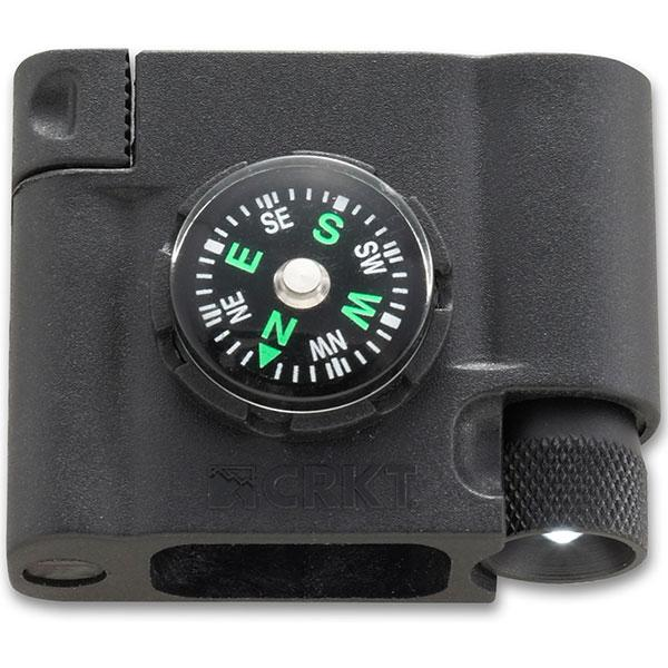 Columbia River (CRKT) Paracord Survival Bracelet Accessory,Compass/LED/FireStarter