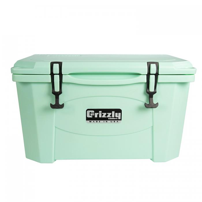 Grizzly 20 Quart RotoMolded Cooler, Sea Foam Green