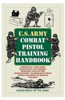 ProForce US Army Combat Pistol Training Handbook