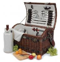 Picnic & Beyond Couture Collection 4-Person Willow Picnic Basket