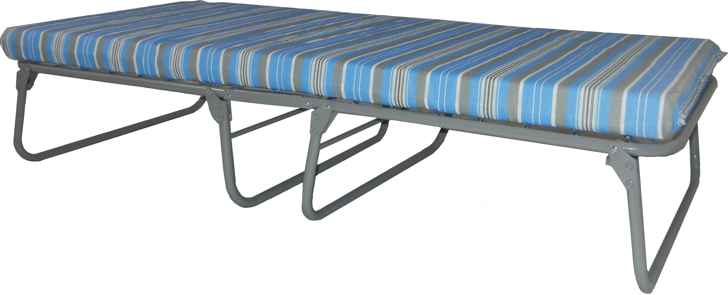 Blantex Heavy Duty Steel Folding Cot 375 Pound Capacity