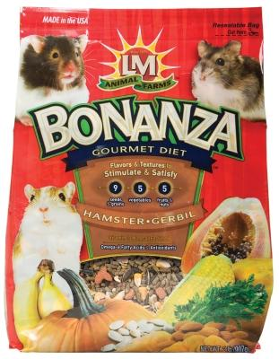 Bonanza Hamster/gerbil 2lb