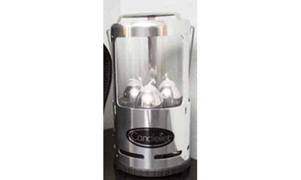 Uco Candelier Lantern Polished Aluminum