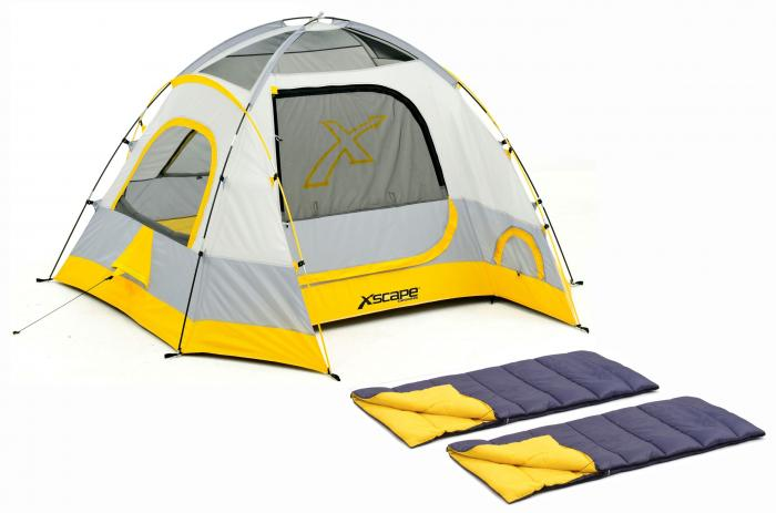 Xscape Designs Vertex 4 & Sleeping Bag Combo