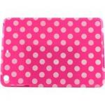 Accellorize 16150 Pink Dot Ipad Air, Case Flips Open & Closes