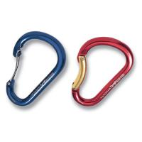 KONG Paddle Carabiner, Wire Gate Anodized